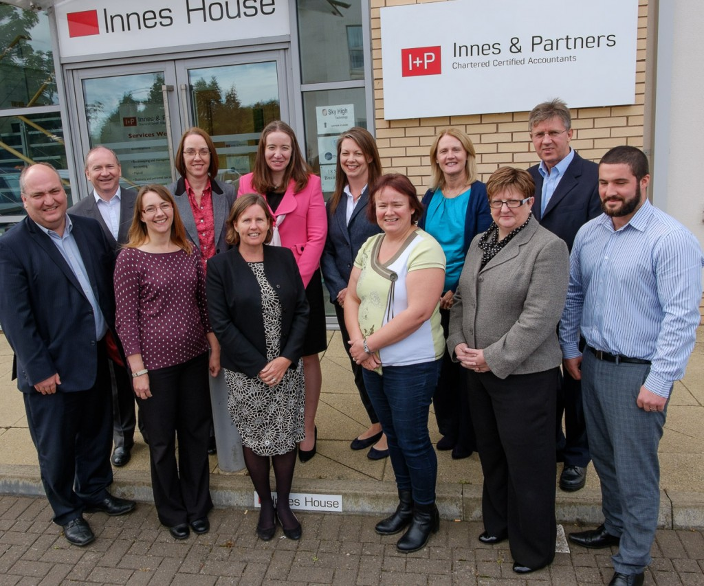 Photo of staff at Innes and Partners Accoutantin Livingston Inverness and Tain