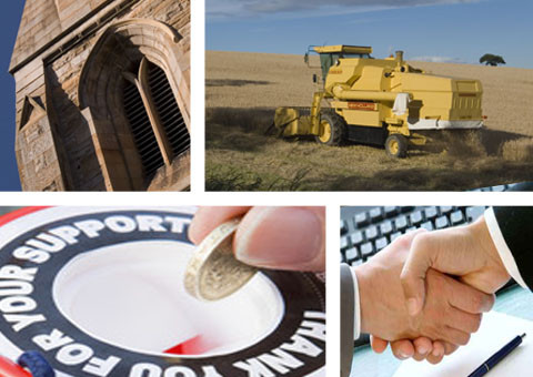 Innes and Partners Chartered Certified Accountants services to business, charity, churches, agriculture