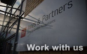 photo of Innes and Partners office sign